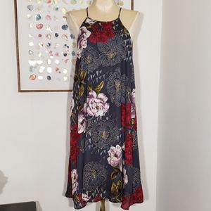 Everly for francesca's floral dress size Large